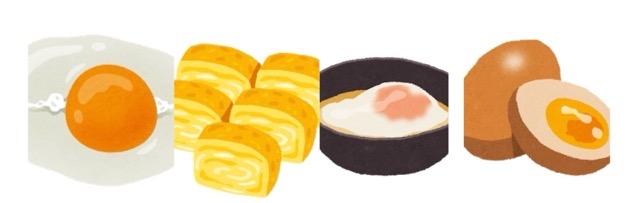 いろいろな卵のイラスト